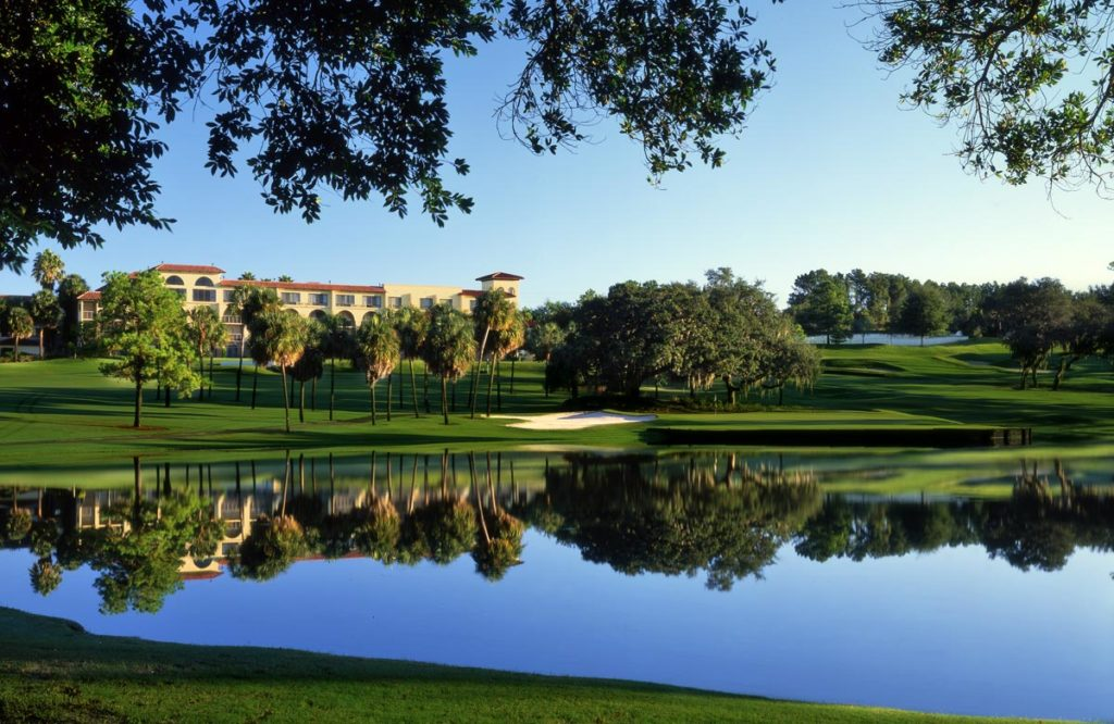 A look at the 6th hole of the El Campeon Golf Course located at Mission Resort & Club