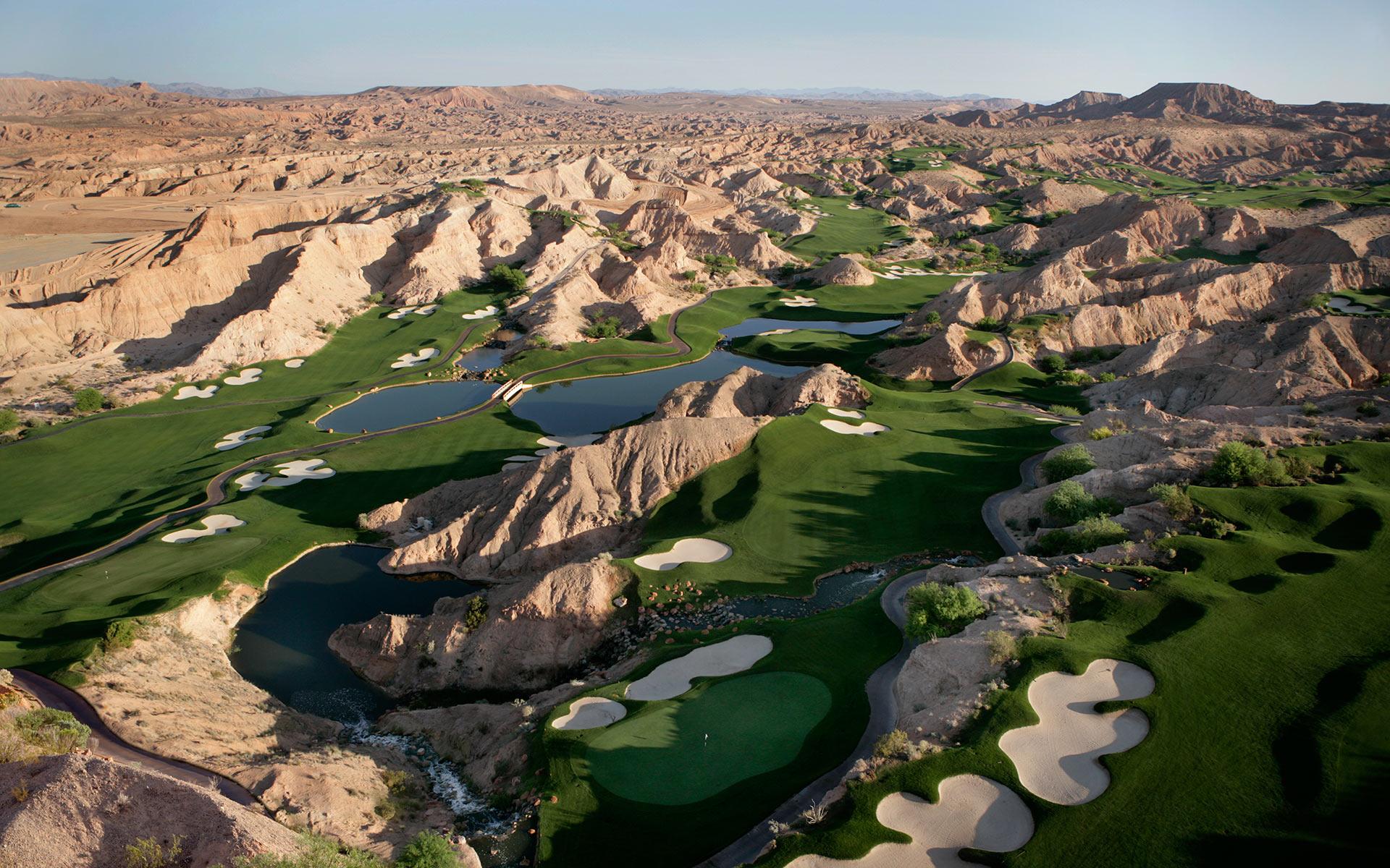 Wolf Creek Golf Club Aerial
