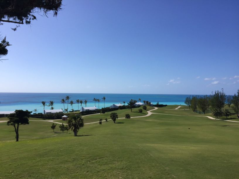 Port Royal sits atop old farmland overlooking the Atlantic Ocean and provides some of the best views in golf